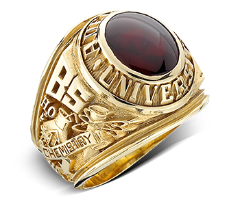 image of example Adelphi University rings