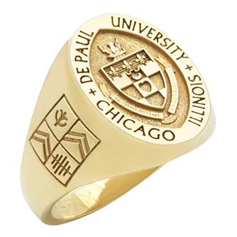 College Rings for DePaul University by Herff Jones