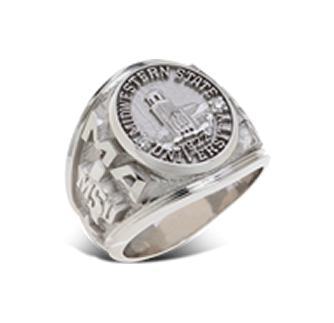 image of example Midwestern State University rings