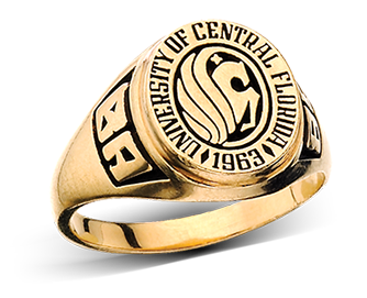 image of example University of Central Florida rings