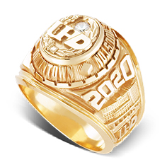 image of example University of Houston Downtown rings
