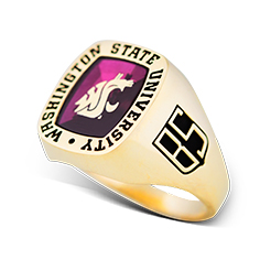 image of example Washington State University rings